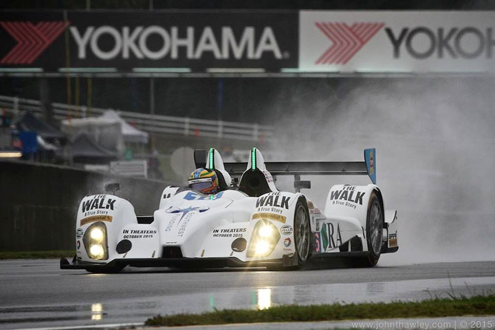 Petit Le Mans from the driver's perspective