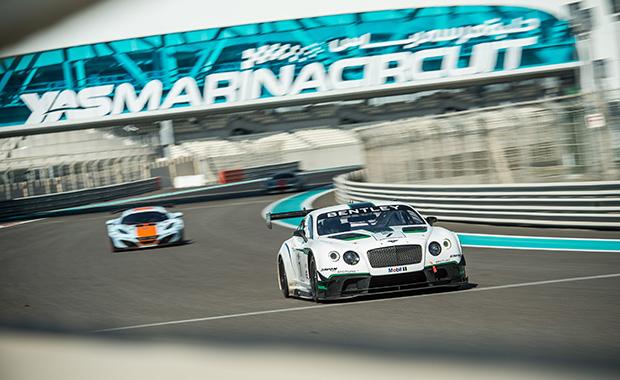 Bentley's GT3 debut in Abu Dhabi