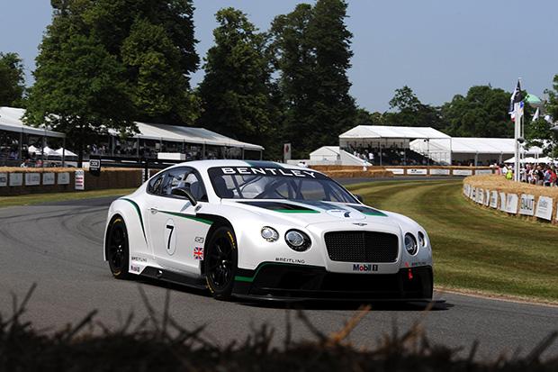 Bentley's imminent return to racing