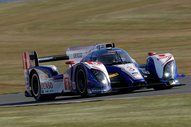 Driving Toyota's Le Mans car (sort of)