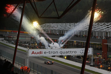 Hybrids miss out on Spa victory