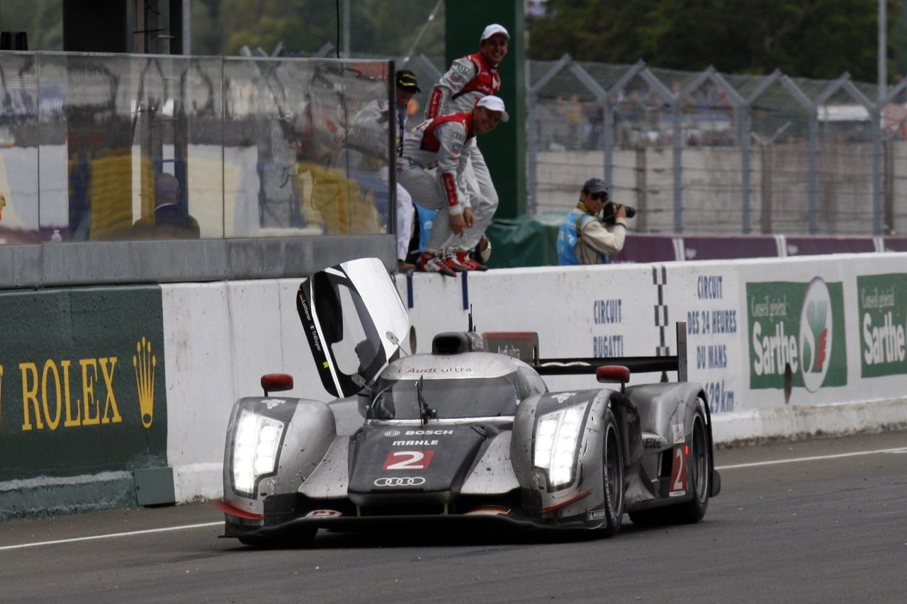 Audi wins classic Le Mans