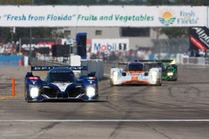 Peugeots power to Sebring 1-2