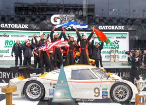 A classic Daytona win
