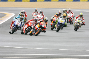 Rossi slips up, but MotoGP is a winner