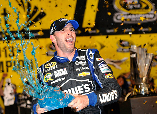 Jimmie Johnson at the top of his game