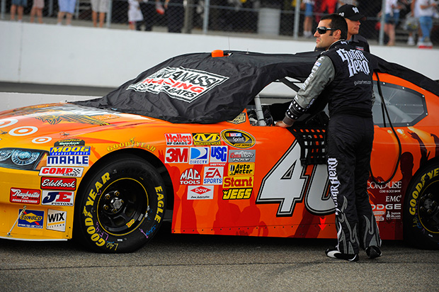 Eating dust in NASCAR