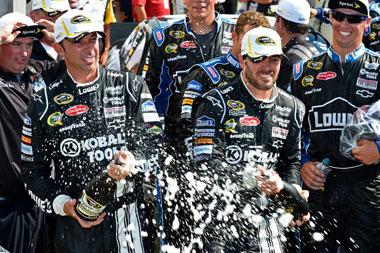 Johnson's fourth win at Indianapolis