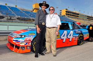 The King reclaims NASCAR team