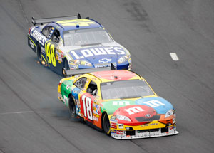 The Sprint Cup's chase for the title is underway