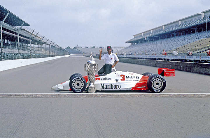 Indy superstars: Rick Mears