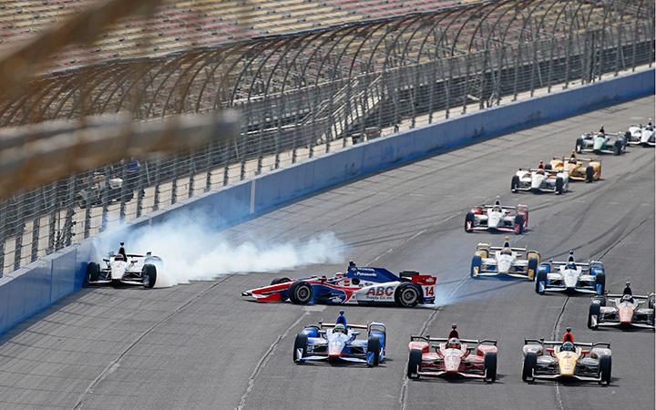 IndyCar's pack racing problem