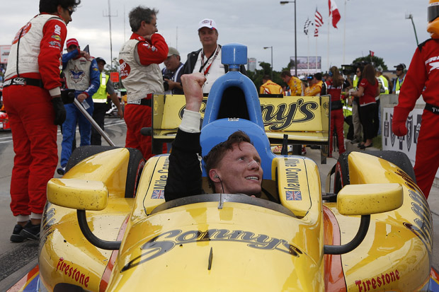 Conway and Pagenaud top double-header