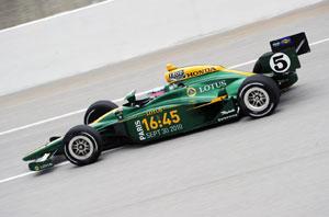 Lotus to build Indycar engines