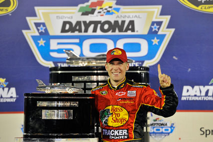 Jamie's magic touch at Daytona