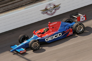 Tracy sets the pace at Indianapolis