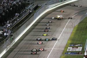Indy car racing's rebirth slowly begins