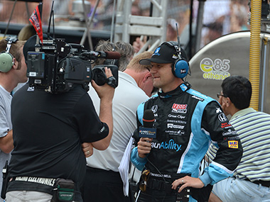 Racing on TV in the United States