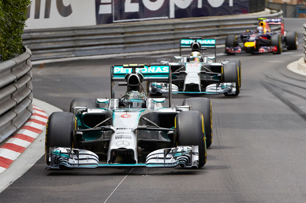The Hamilton/Rosberg rivalry