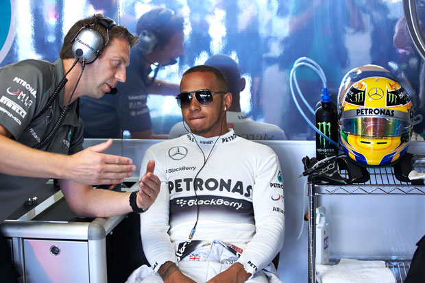 Hamilton's emotional Italian roller coaster