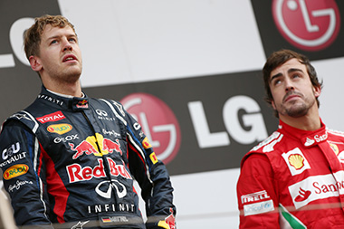 F1 title race heats up