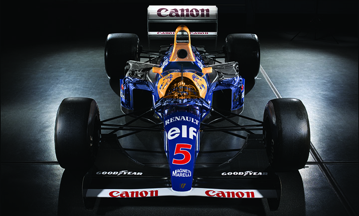 Great Racing cars: Williams F14, 14B and FW15C