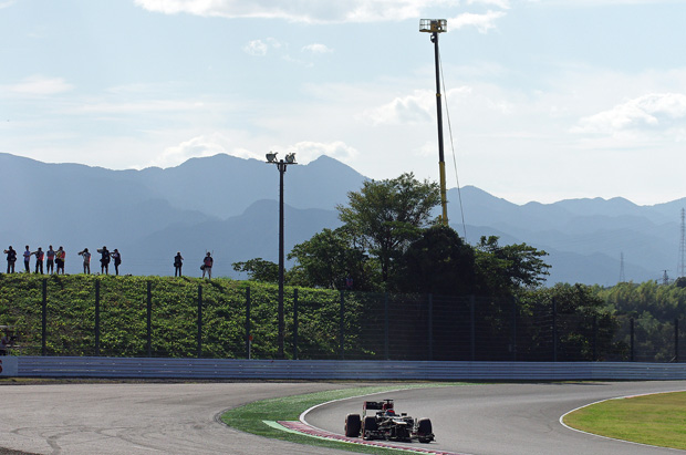 Japanese Grand Prix – day one