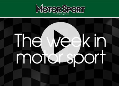 The week in motor sport (30/03/2011)