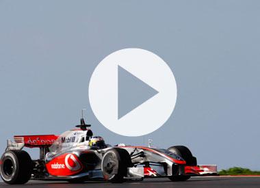 McLaren in the office Grand Prix
