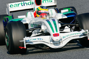 Senna for the new Virgin F1 team?