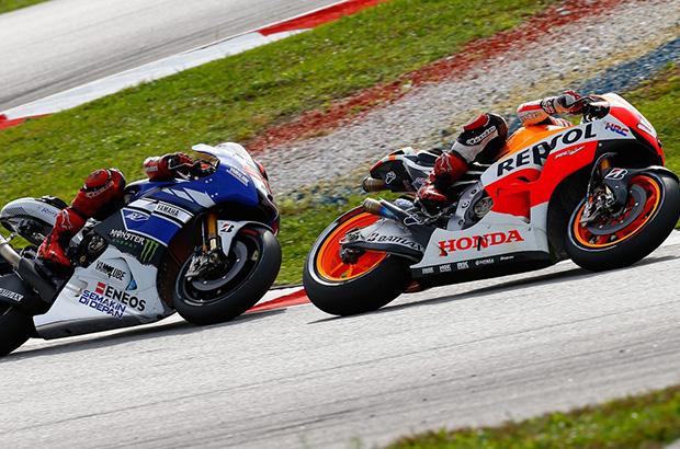 Lorenzo vs Márquez