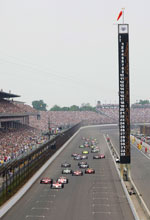 A century of speed at Indy