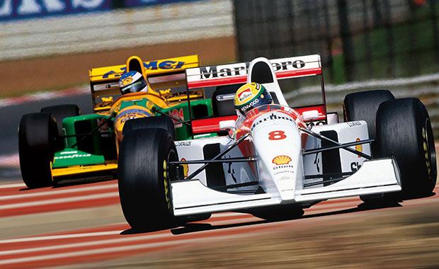 Senna vs Schumacher: a great rivalry lost