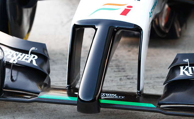 The aesthetics of the Formula 1 nose