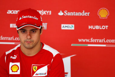 Replacing Felipe Massa at Ferrari
