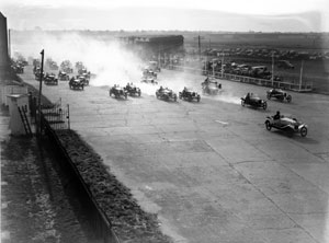 Torchlight tour of ghostly Brooklands