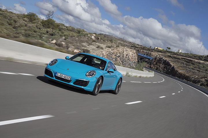 Porsche's new 911