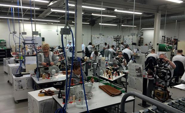 Inside Bentley's factory