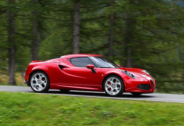 Alfa Romeo's 4C launch at Balocco
