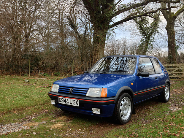Why I bought a Peugeot 205 GTI