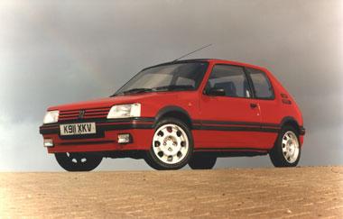 Replacing the brilliant Peugeot 205GTI