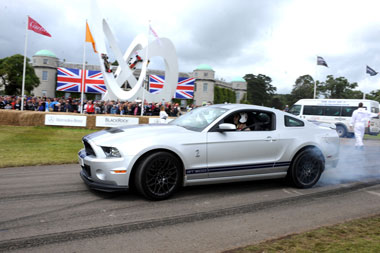 Carroll Shelby's favourite Mustang