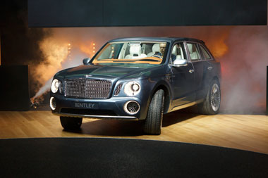 Bentley SUV steals the show in Geneva