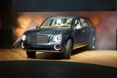 Bentley SUV steals the show in Geneva