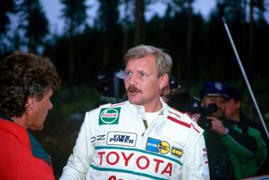 A ride with Juha Kankkunen