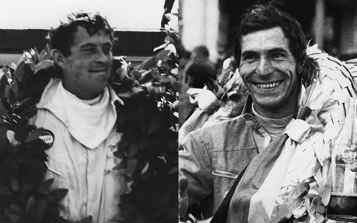 Vic Elford and Brian Redman