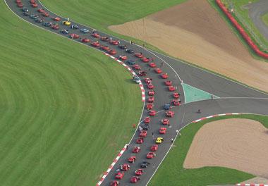 Ferrari parade set to break world record
