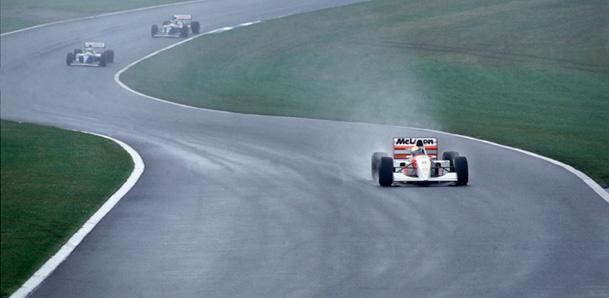 Senna double, Gurney at 85