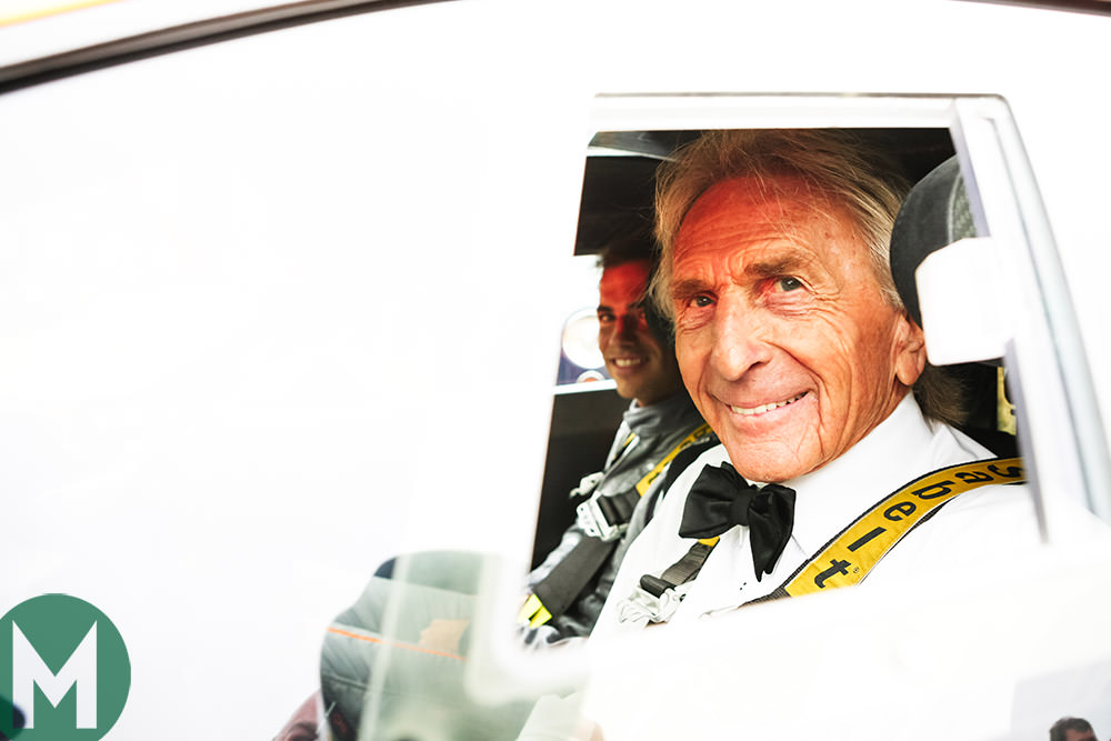 Lunch with a sports car racing hero