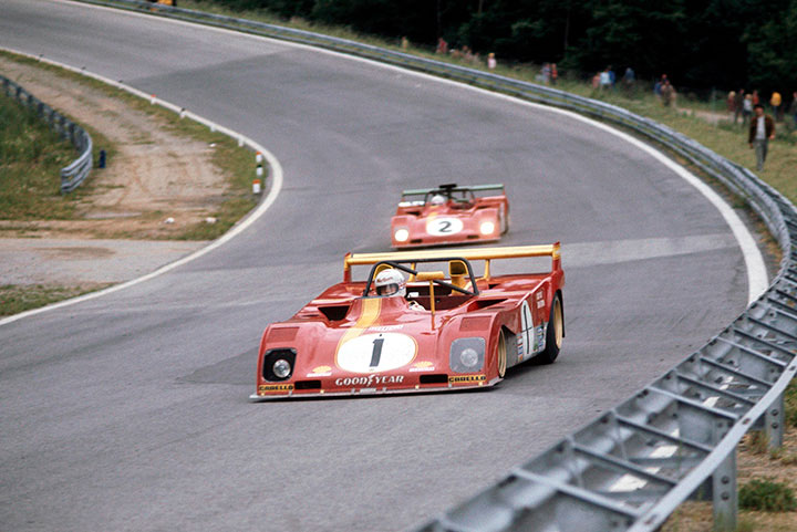 Brian Redman and Mike Thackwell